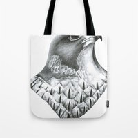 millenium falcon Tote Bags featuring Falcon by lints