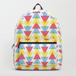Colour mixing triangles Backpack