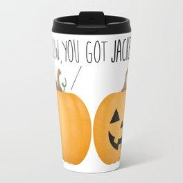 Wow, You Got Jacked! Travel Mug
