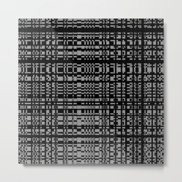 block chain Metal Print