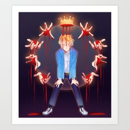 Corrupted Prince Art Print