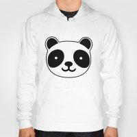 racing Hoodies featuring Racing Panda by XOOXOO
