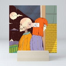 Haunting Past (A Reflection) Mini Art Print