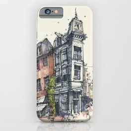 Amsterdam Canal Street Store iPhone Case