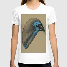 Fractal Bird with Sharp Beak T-shirt
