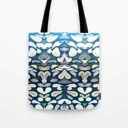 Under The Sea Summer Swimming Lessons, Dark Blue Tote Bag