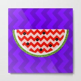 Pop Watermelon Metal Print