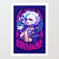 barachan Art Prints featuring adamas by barachan