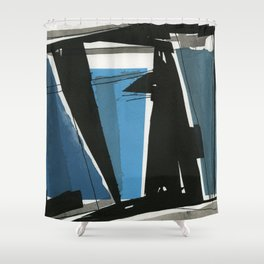 For Good Measure Shower Curtain