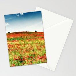 Poppy's field Stationery Cards
