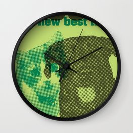 Rescue your new best friend Wall Clock