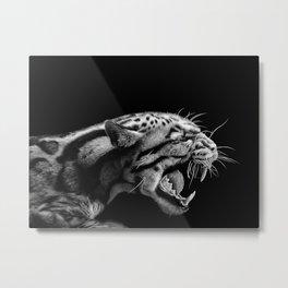 ANGER Metal Print