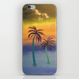 Tropical Storm #1 - Revisited Original Painting iPhone Skin
