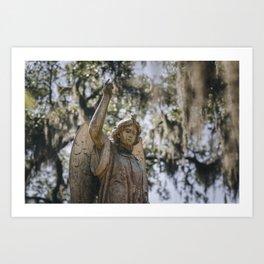 Bonaventure Cemetery Angel II Art Print