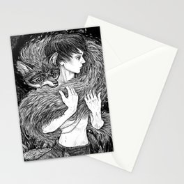 Magic fox Stationery Cards
