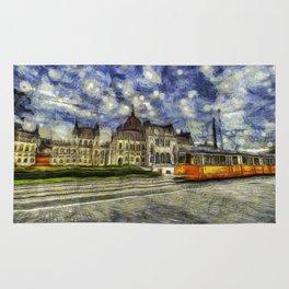 Budapest Vincent Van Gogh Rug