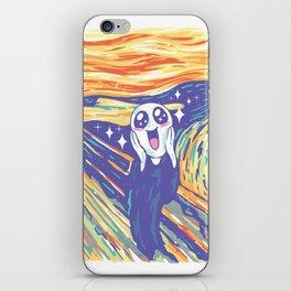 Kawaii Scream iPhone Skin