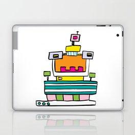 Big Smile Robot Laptop & iPad Skin
