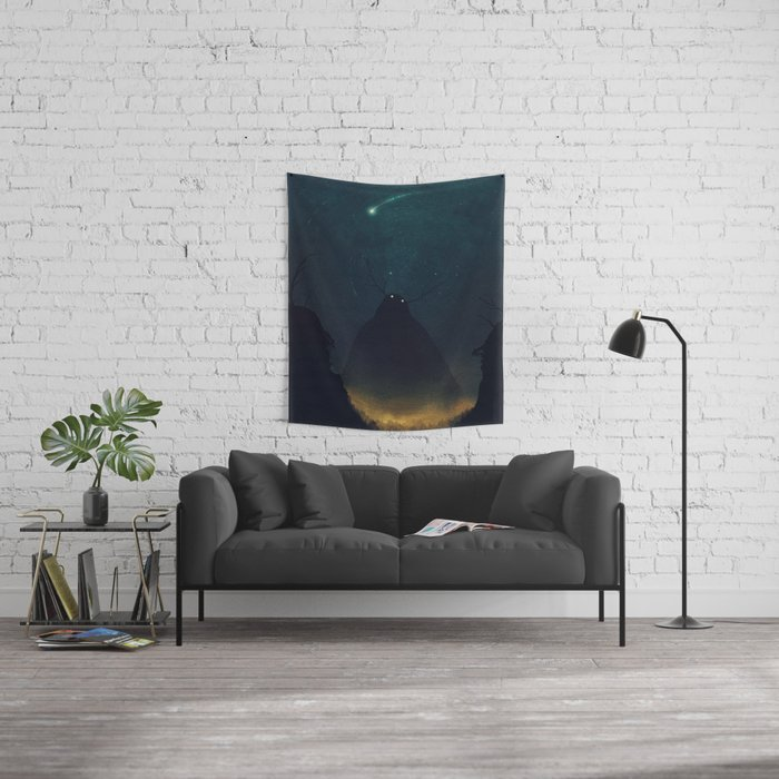 Stillness Wall Tapestry