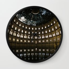 An abandoned beauty Wall Clock