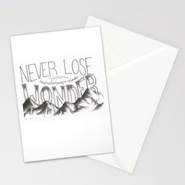 Never Lose Your Wonder Stationery Cards