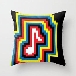 Music... BOOM! Throw Pillow