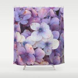 Blossom Purple Shower Curtain