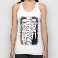 enerjax Tank Tops featuring All dat CumberSwagger by enerjax