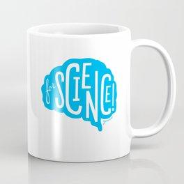 For Science! Brain Blue Coffee Mug