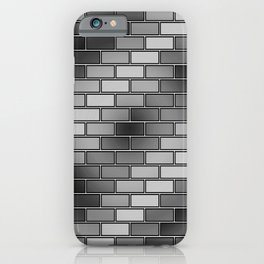 BRICK WALL #2 (Grays) iPhone Case