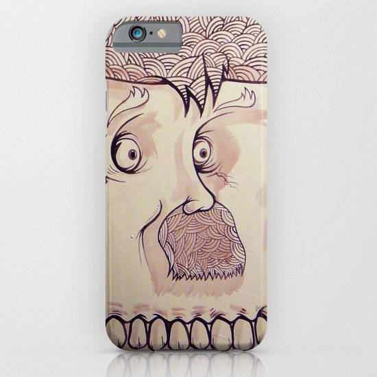 In Your Face Mr. Moustache iPhone & iPod Case