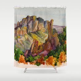 Big Bend National Park Shower Curtain