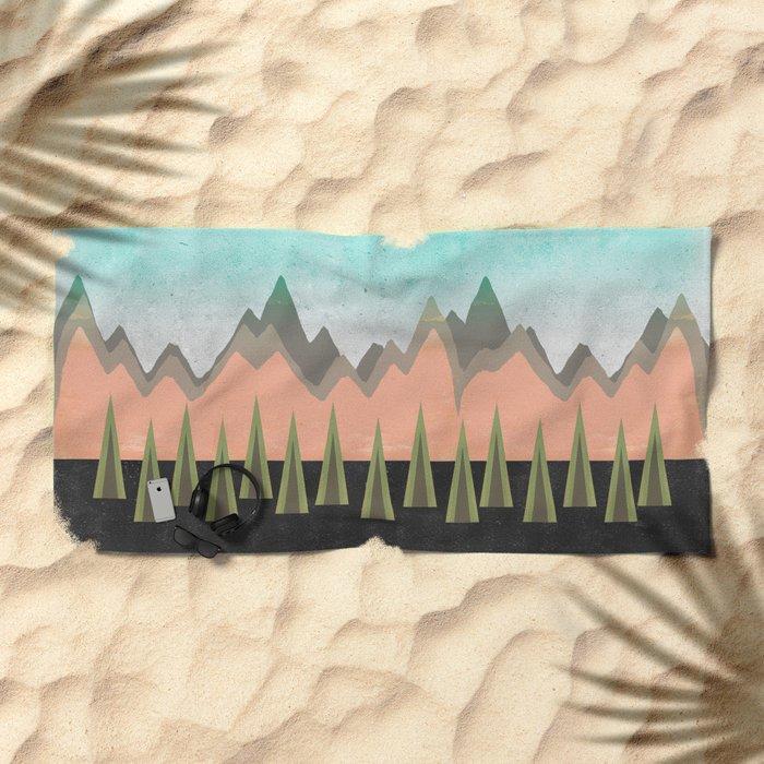 Sacred Beach Towel