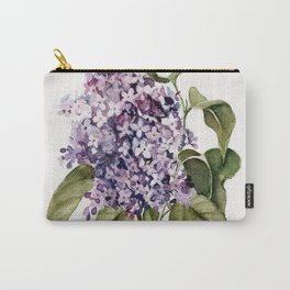 Lilac Branch Carry-All Pouch