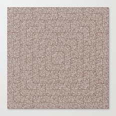 Bardarbunga Sepia Canvas Print