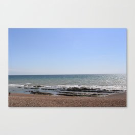 Brighton beach. Canvas Print