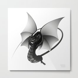 Dragon by Taylan Balaban Metal Print