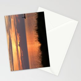 Sundown Gold Stationery Cards