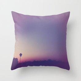 a summer night Throw Pillow