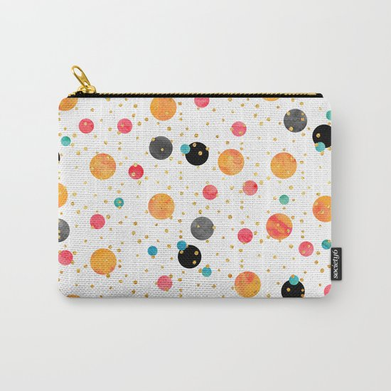 Peachy Party Carry-All Pouch