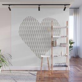 Penis at heart Wall Mural