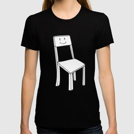 chair boy T-shirt
