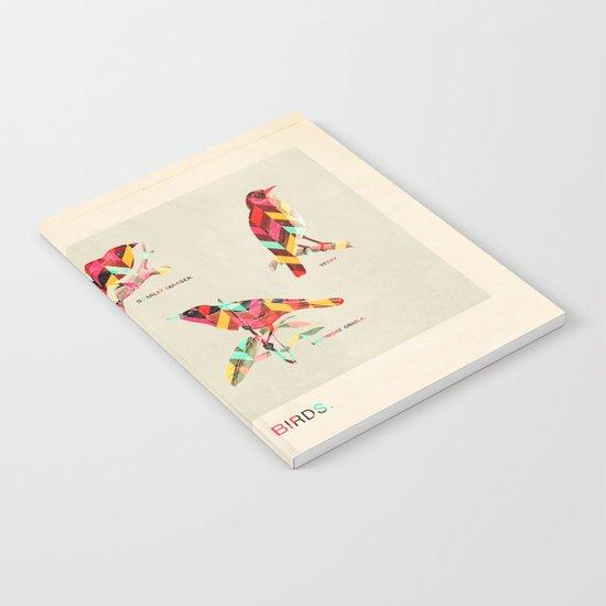Song Birds Notebook