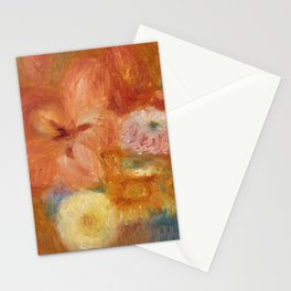 Green Bowl of Flowers Stationery Cards