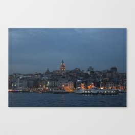 Galata Tower ,Istanbul/TURKEY Canvas Print