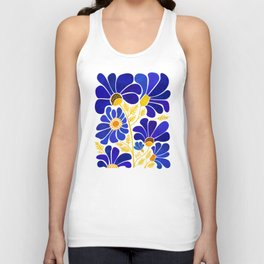 The Happiest Flowers Unisex Tanktop