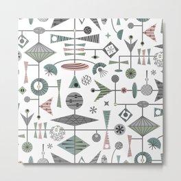 A Geometric Conundrum - Vintage Mobiles ©studioxtine Metal Print