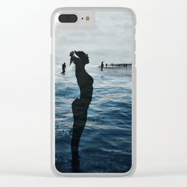 Waves Of Kaiti Clear iPhone Case