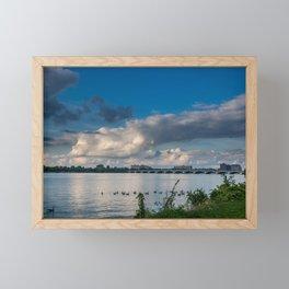 Belle Isle Bridge Framed Mini Art Print