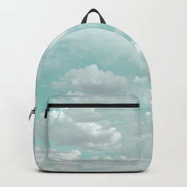 Clouds in a Mint Sky Backpack